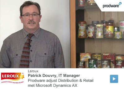 Microsoft Dynamics AX, Prodware adjust Distribution and Retail